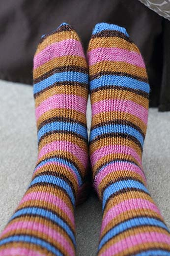 """Socks - Yarntini """"Home"""" colorway"""