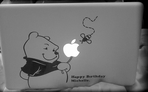 Michelle's new MBP