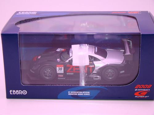 EBBRO ZENT CERUMO SC430 SUPER GT 2009 OKAYAMA TEST (1)