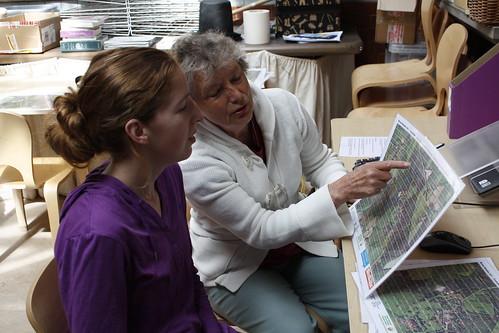 The BRERC environmental records team in action