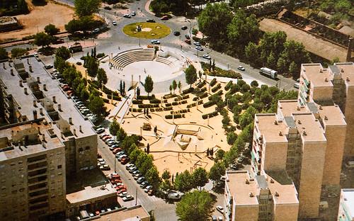Parque Manuel Azaña a finales de los 80