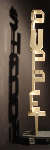 LEGO profound whatever shadow puppet