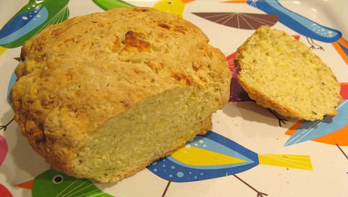 Quick Goat's Cheese Bread