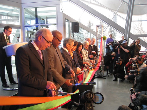 Art Gallery of Alberta Ribbon Cutting