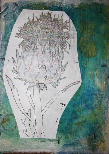 cardoon embroidery