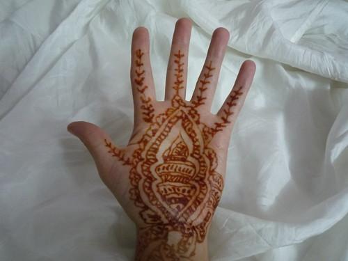 Sarahs Henna-Hand