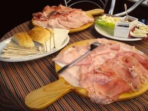 Tagliere affettati e formaggi