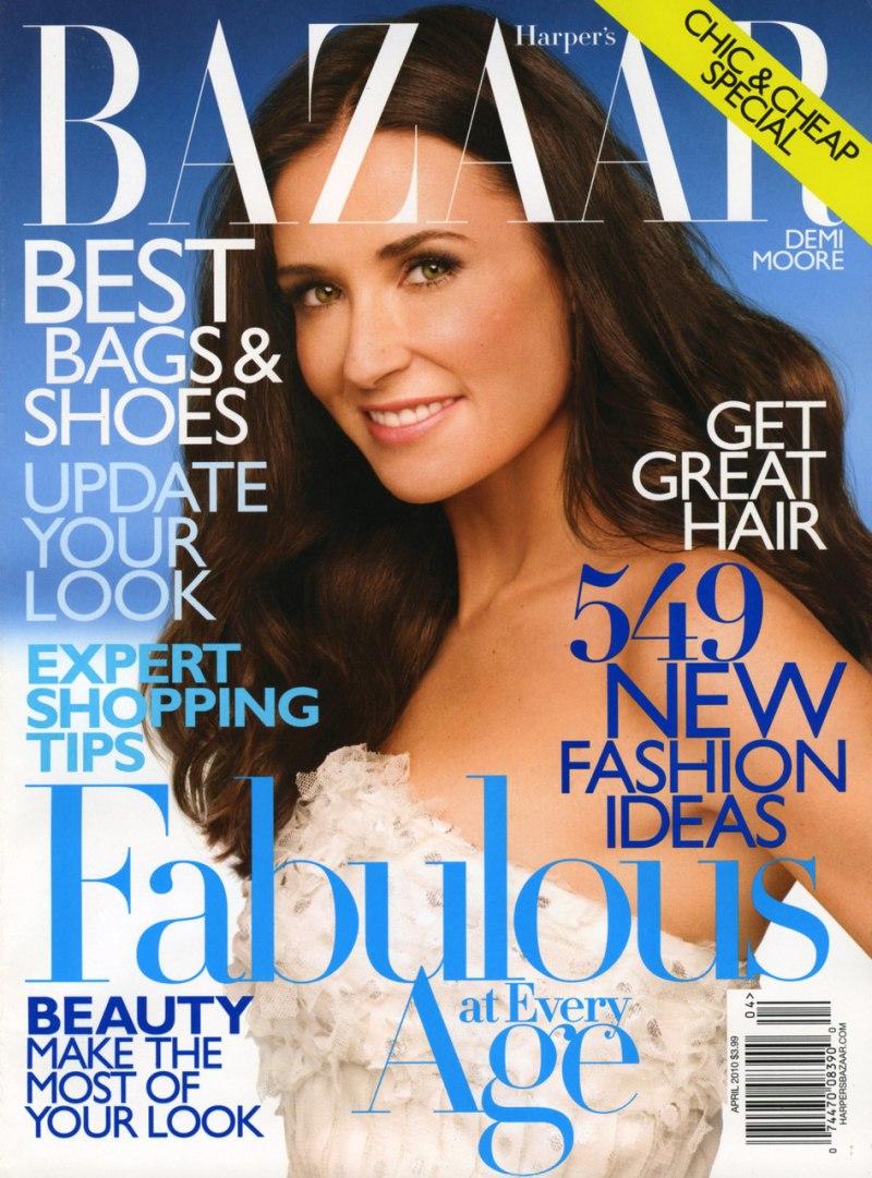 Harper's Bazaar US April 2010 1