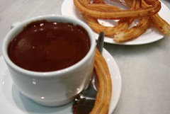 churros con choco in san ginés