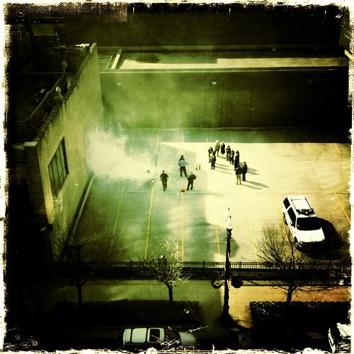 Urban ritualized behaviors