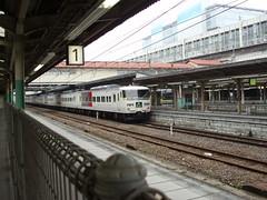特急水上号(Limited Express Minakami at Takasaki Sta., Japan)