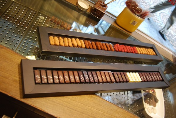 Teclado de chocolate de Alma de Cacao
