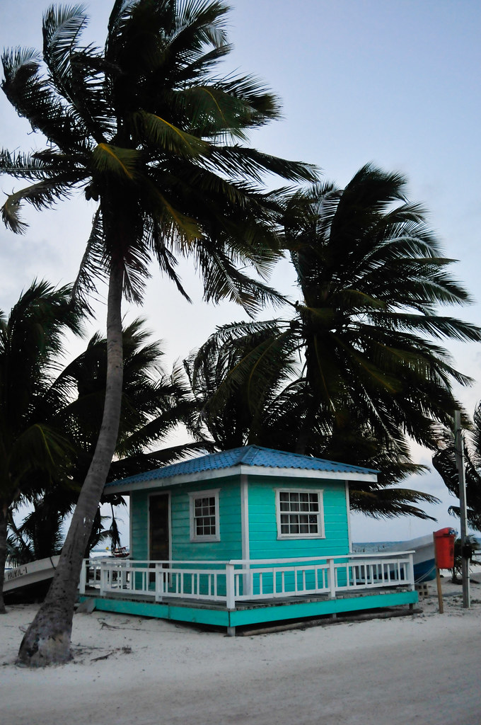 Cute house in Caye Caulker, Belize