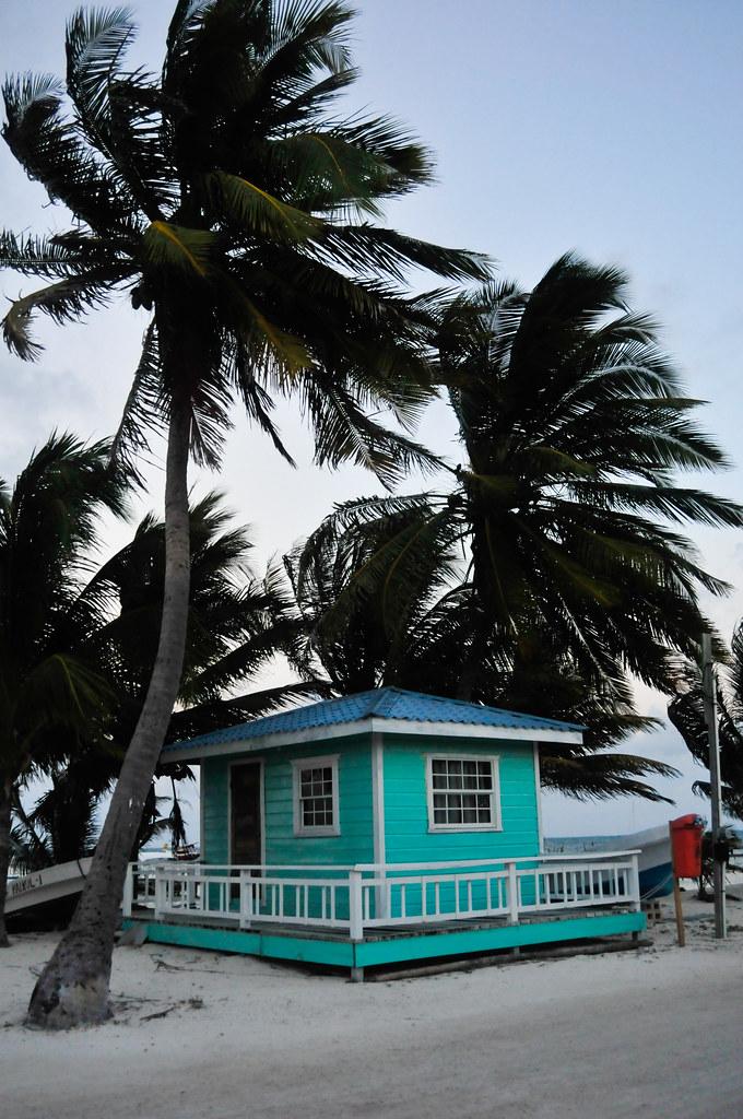 Cute house in Caye Caulker, Belize