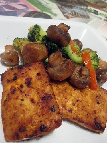 Urban Vegan marinated tofu