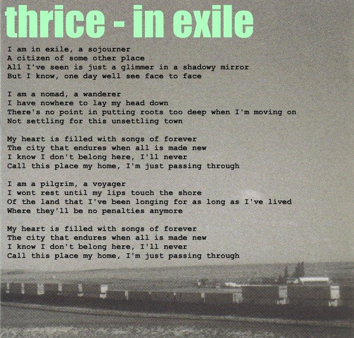 in exile lyrics