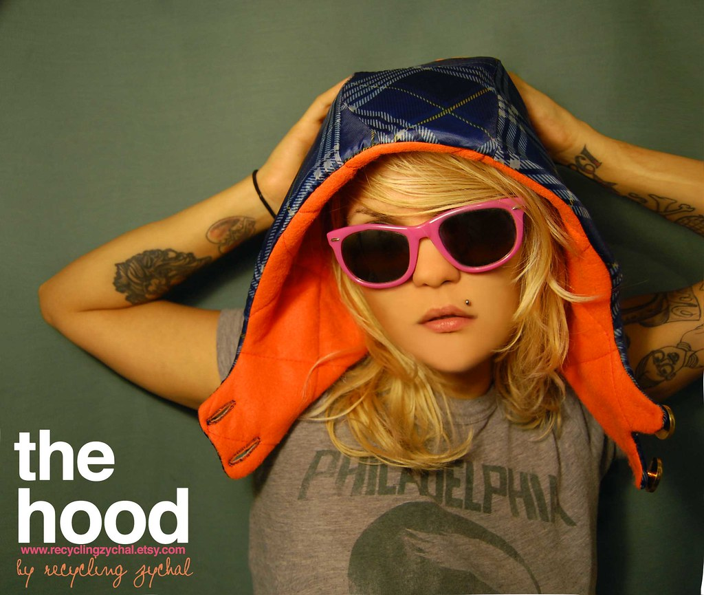 New Winter HOODs by Recycling Zychal are now available on www.recyclingzychal.etsy.com from $22-$30+