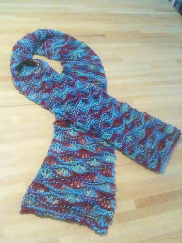 Easy Drop-Stitch Scarf