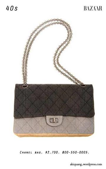 Chanel bag, $2,700. 800-550-0005.