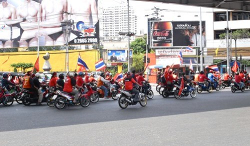 Red Rally at Bangkok