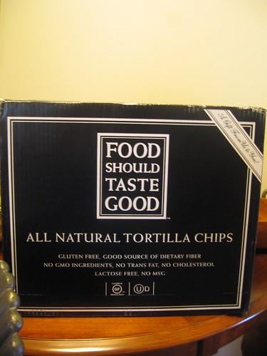 Food Should Taste Good box.