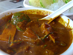 Spicy Fish Kidney Curry @ Jitlada Thai