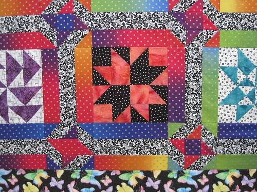Thangles BOM quilt 2009