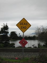 Dead End, close up