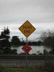 Dead End, close up