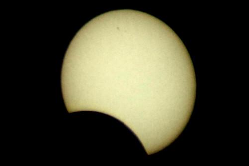 Enhanced version of solar eclipse