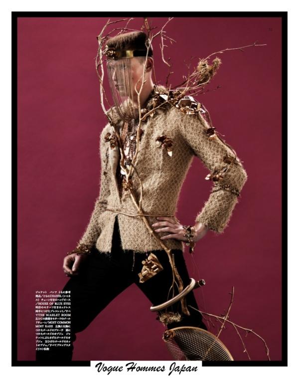 Vogue Hommes Japan 1