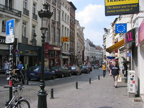 Brussels street view