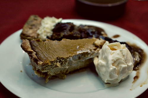 Thanksgiving Pies and Nutmeg Ice Cream