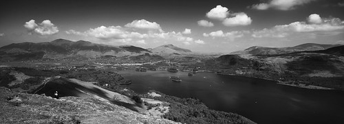 Derwent Water and Keswick from Catbells