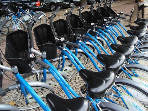 Renting a bike in Rio