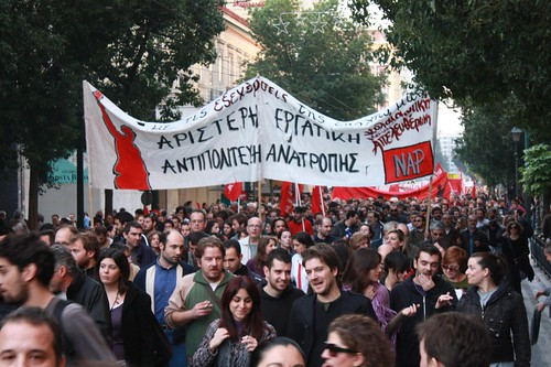 Athens Polytechnic uprising protest 2009 16:50:41.jpg