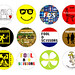 foolish badge<br/>3P ¥300(tax in)<br/>※18種類の中から3個を選択