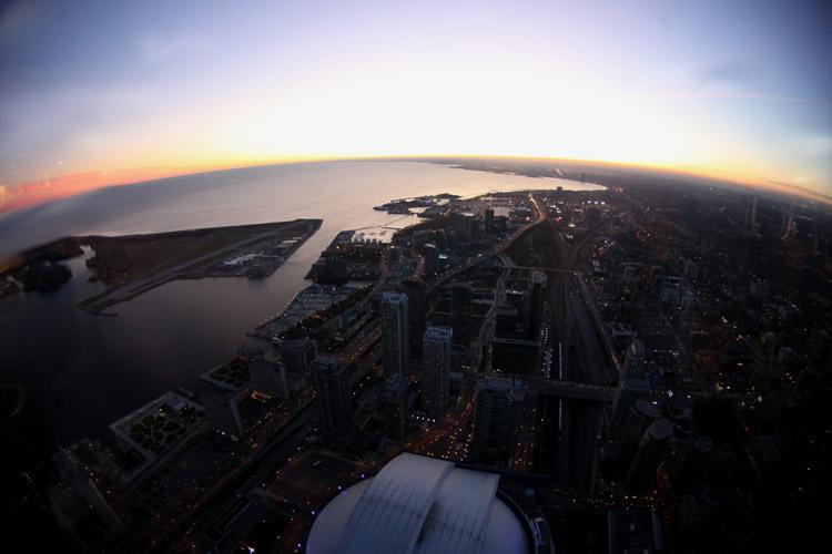 CN Sunset