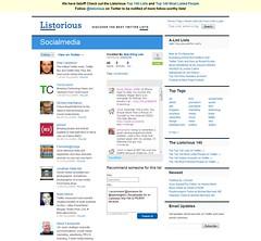 Listorious: Socialmedia Twitter List by See-mi...