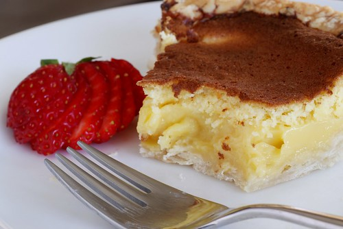 lemon chess pie for pi day
