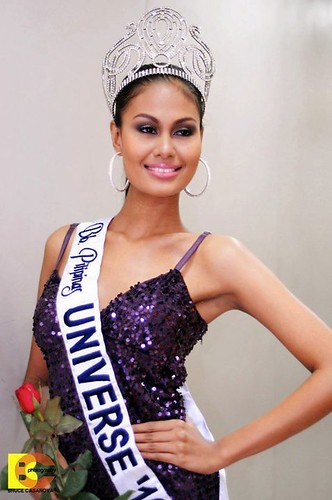 Dethroned Bb. Pilipinas Universe Venus Raj before she was stripped of her crown
