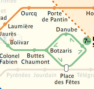 Line 5 and 7 bis - ratp