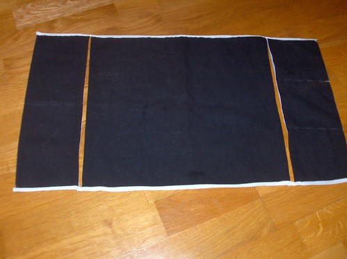 Spinner's lap cloth