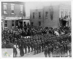First World War soldiers, Rodney, circa 1916