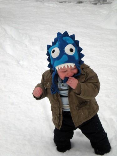 Ian hates snow