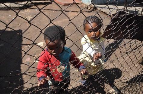 Kids at Kliptown