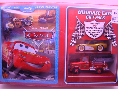 CARS Blu RAY diecast Gift Set (2)