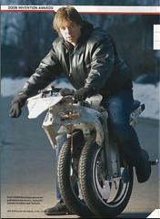 Ben Gulak with Uno bike prototype