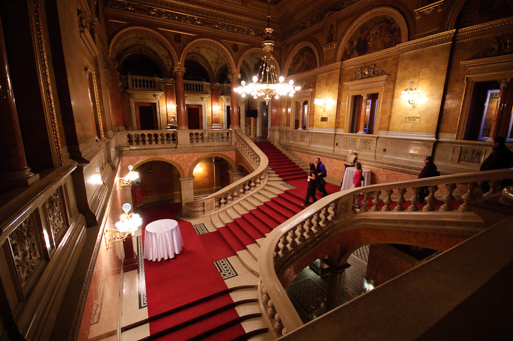 Main staircase, Hungarian State Opera House
