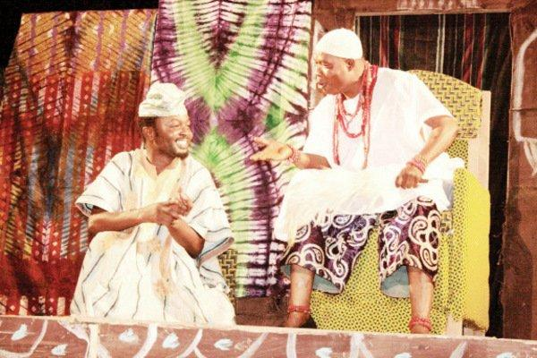 IREKE ONIBUDO-A NOVEL FOR THE GREATEST YORUBA NOVELIST D.O. FAGUNWA,PERFORMED AS A PLAY IN YORUBA LANGUAGE AND ENGLISH BY CHAMS PLC NIGERIA,NOV. 2009